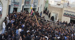 گزارش تصویری مراسم علم پیغمبر میناب